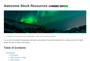 awesome-stock-resources