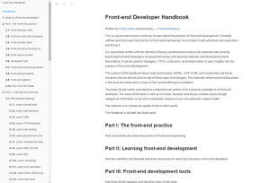 fronted-developer-handbook
