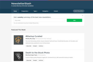 newsletter-stash