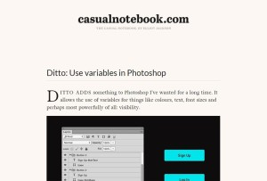 photoshop-variables