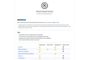 awesome-design-systems