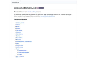 awesome-remote-job