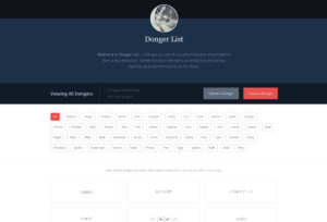 donger-list