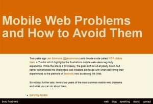 mobile-web-problems